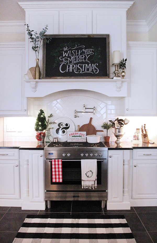 12 days of decorated holiday homesa rustic kitchen design rustic kitchen rustic kitchen decor on farmhouse kitchen xmas id=65385