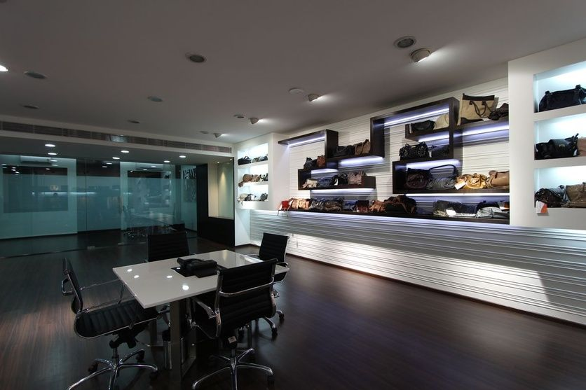 Spacious Display Area for Designer Bags