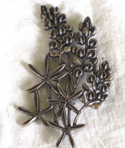 33ca9ed836c RETIRED James Avery Sterling Bluebonnet Brooch Pin. I NEED this ...