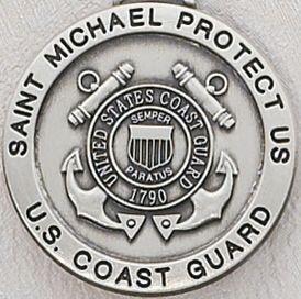 Christopher//Natl Guard Pend DiamondJewelryNY Sterling Silver St