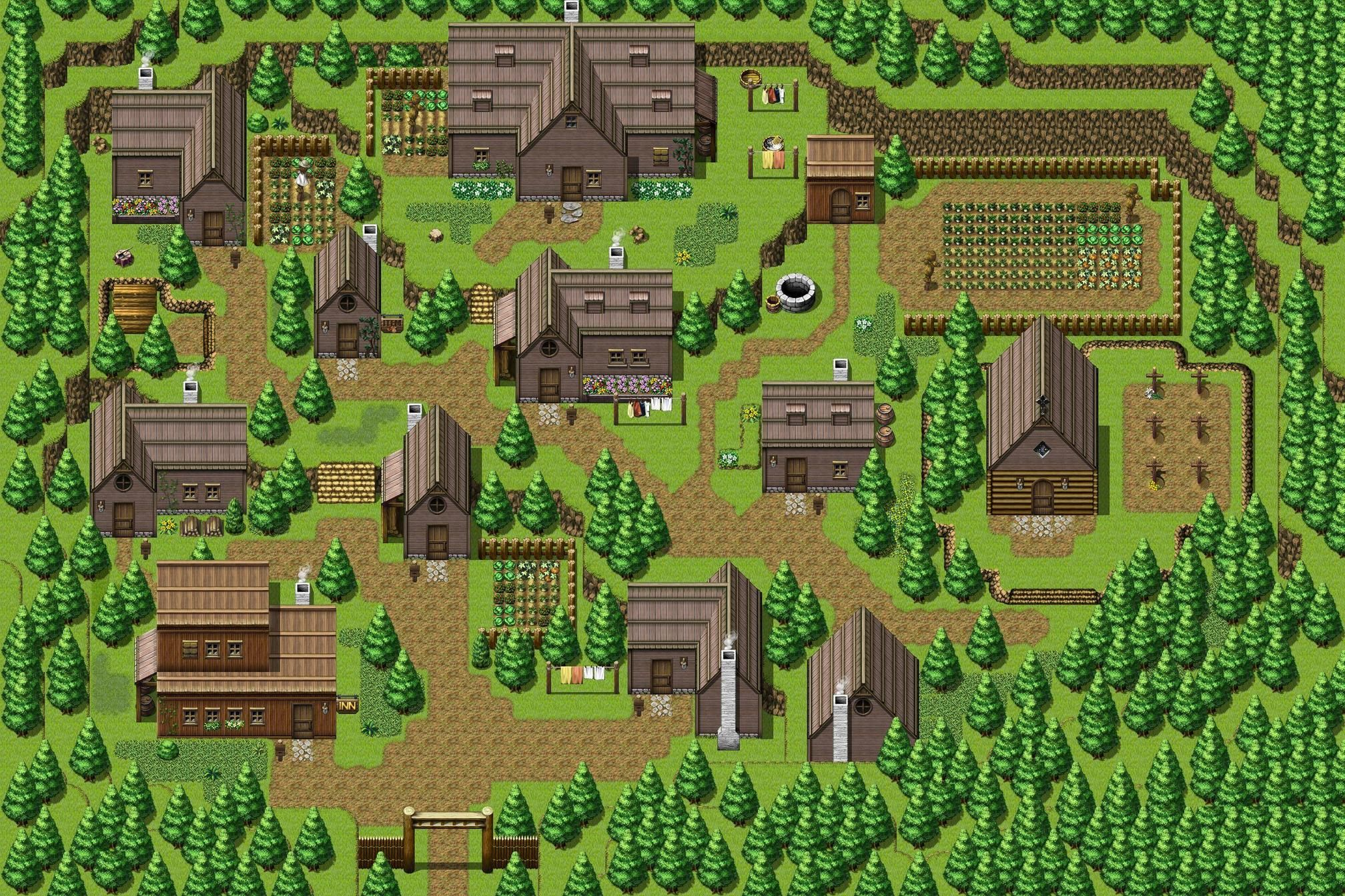 Pin by Troy Hepfner on RPG Maker Maps in 2019 | Pixel art