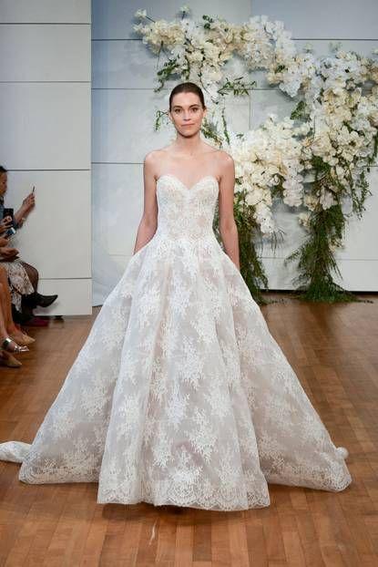 Vorschau: Das sind die schönsten Brautkleider-Trends 2018 | Wedding ...