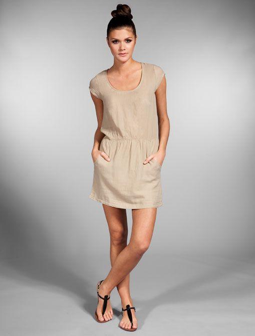Cotton Twill Dress American Vintage Warm Weather Fashion Dresses Fashion