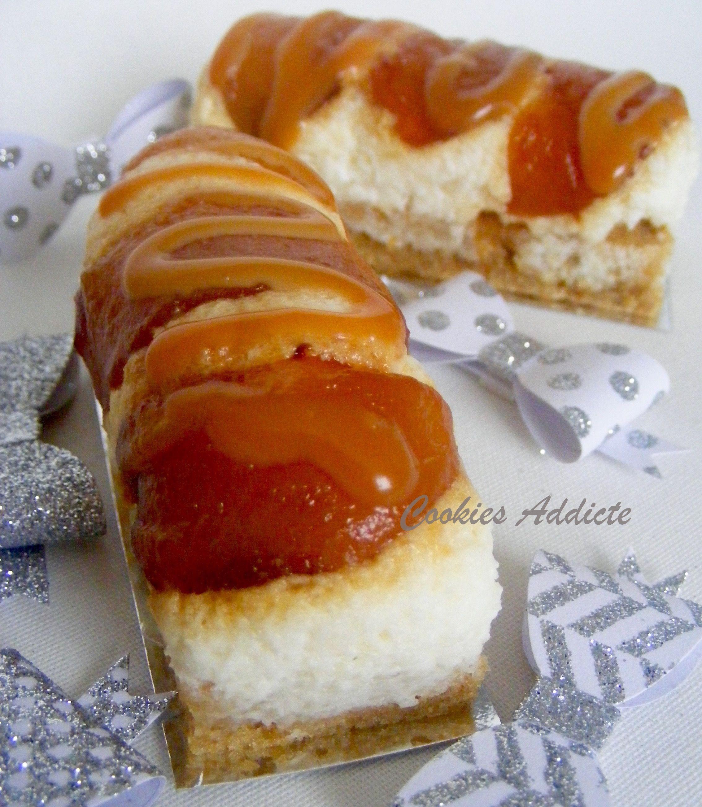 Mini-bûches poire,caramel, spéculoos  La recette sur http://cookiesaddicte.com