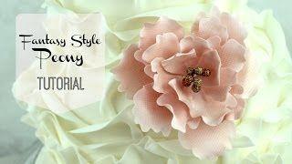 Youtube Sugar Flowers Tutorial Fondant Flower Tutorial Cake Decorating Flowers