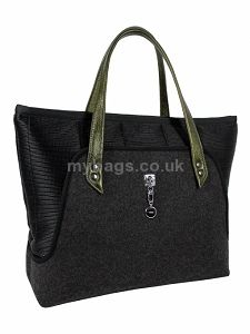 72ae6d7eed1b0 GOSHICO Tote bag with leather handles SOTE http   mybags.co.uk ...