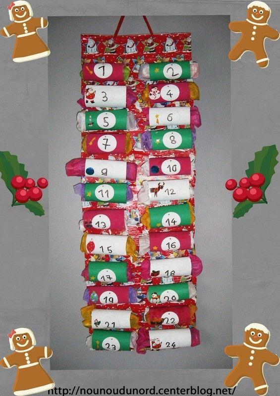 Calendrier De L Avent Avec Des Rouleaux De Papier Wc 2012 Kids