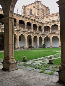Colegio del Arzobispo Fonseca o de los irlandeses. Diego de Siloé