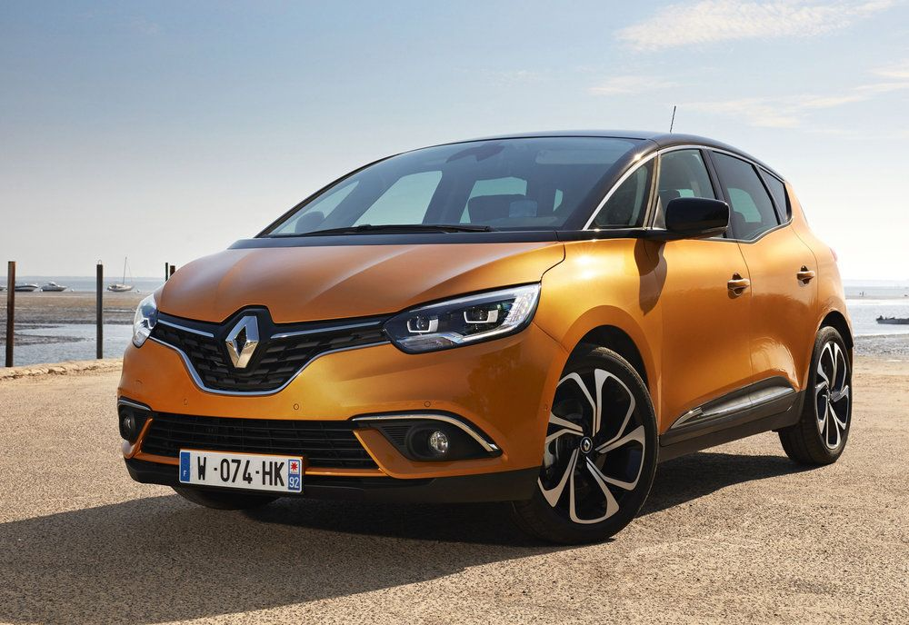 New Renault Scenic Pricing Revealed Renault Scenic 2017 New
