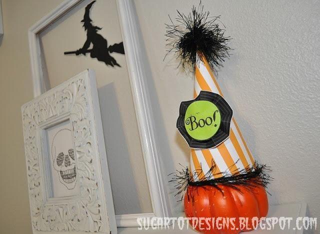 DIY Pumpkins Crafts  DIY Halloween Pumpkin Hats DIY halloween - halloween crafts ideas