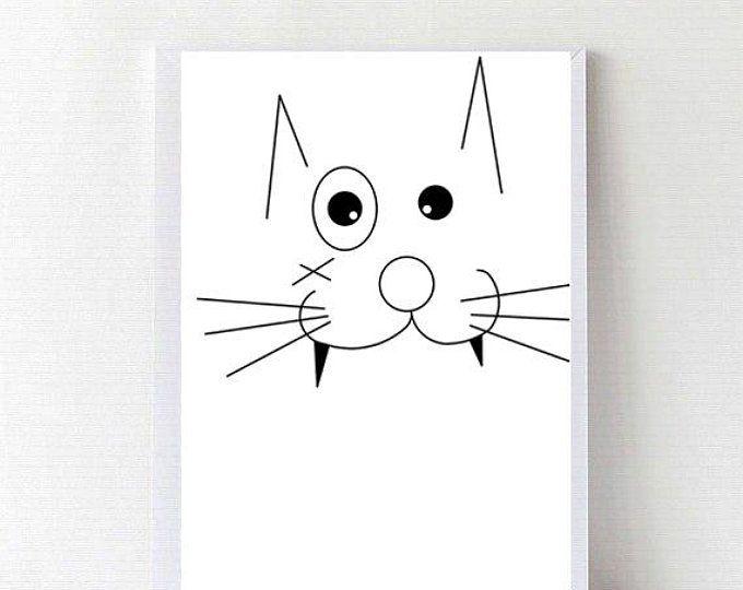 Animal Printable Art, Nursery Animal Printable,nursery decor, illustration, wall art print, kids room decor,dog poster bambino