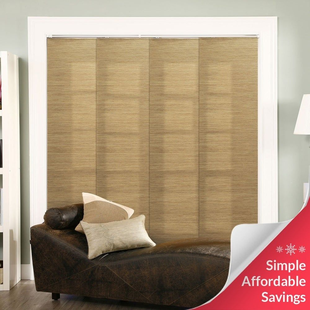 Chicology Adjustable Sliding Panel Frontier Natural Woven