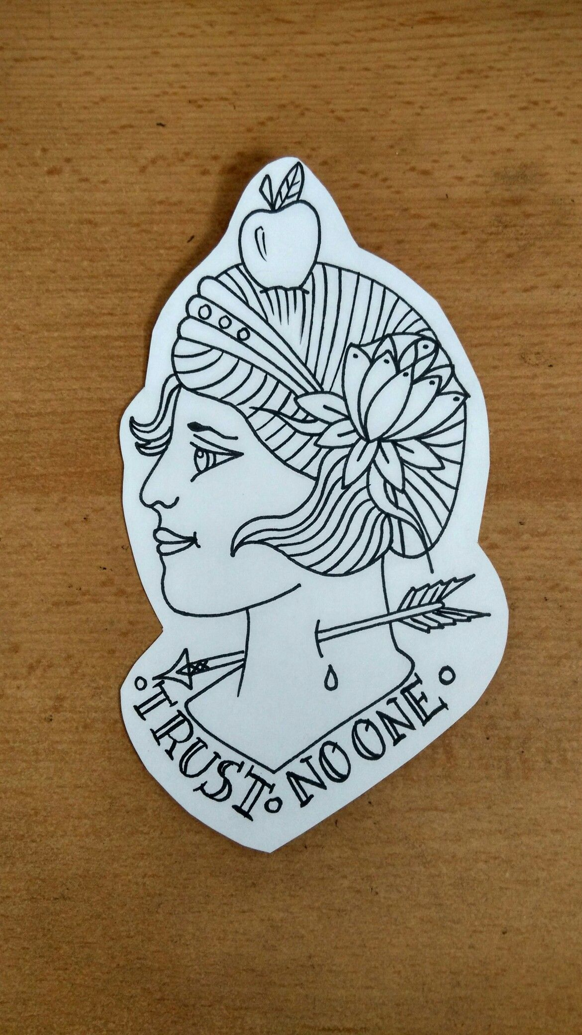 Tattoo flash by do not copy please