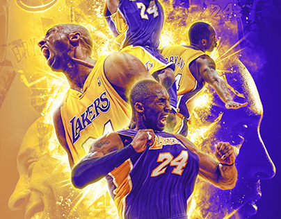 Mamba Out (With images) Sports graphic design, Kobe