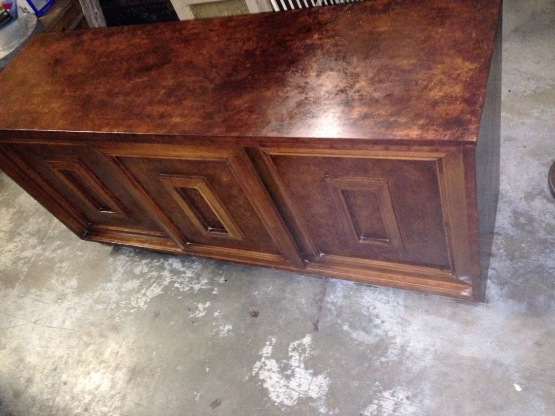 Another one for the looks and refinishing what you may have at home.