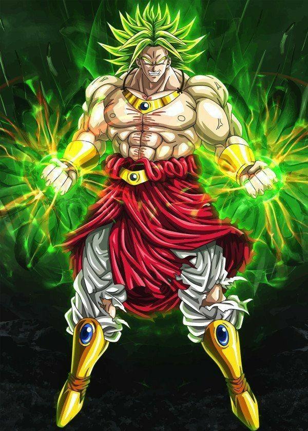 Broly super guerrier l gendaire dragon ball super pinterest dbz manga et personnages - Dragon ball z broly le super guerrier vf ...