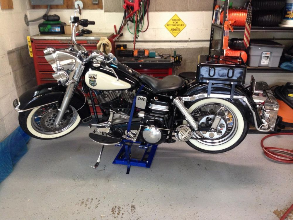 1974 Harley Davidson Electra Glide Standard Police Classic Vintage Us 9 000 00 Image 1 Harley Davidson Harley Davidson Electra Glide Harley