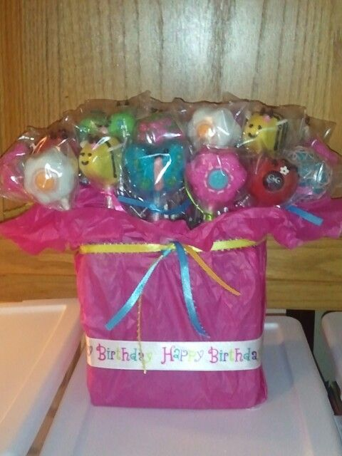 Garden Birthday cakepops