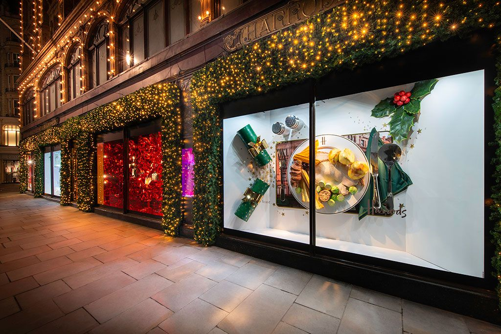 Harrods Christmas windows London 2018 Christmas window