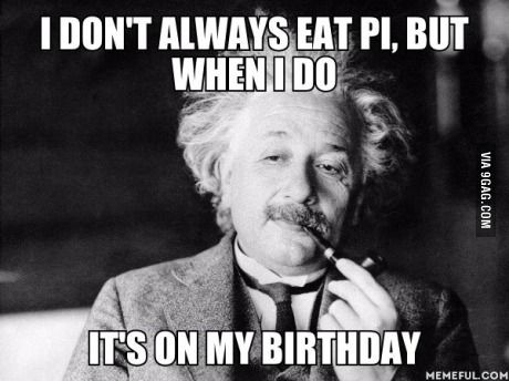 Do You Know That Einstein S Birthday Is On The Pi Day Albert Einstein Einstein Albert Einstein Quotes