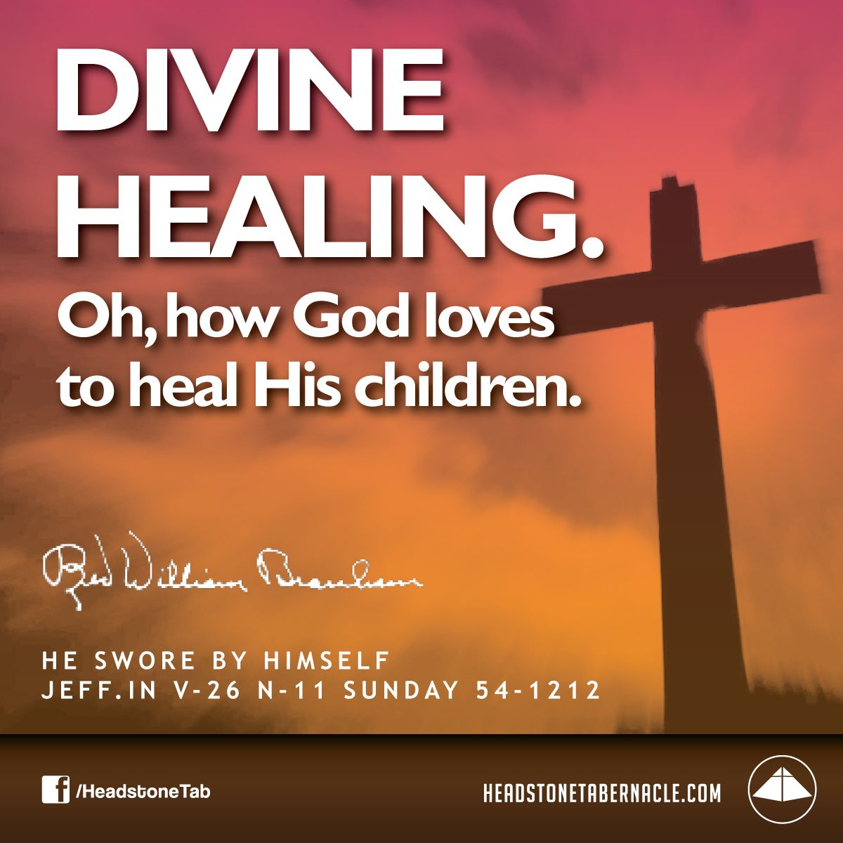 divine healing Lesson 1: divine healing through god's provision the only way you can flow in  the spirit is by following the anointing the bible clearly says: so then faith.