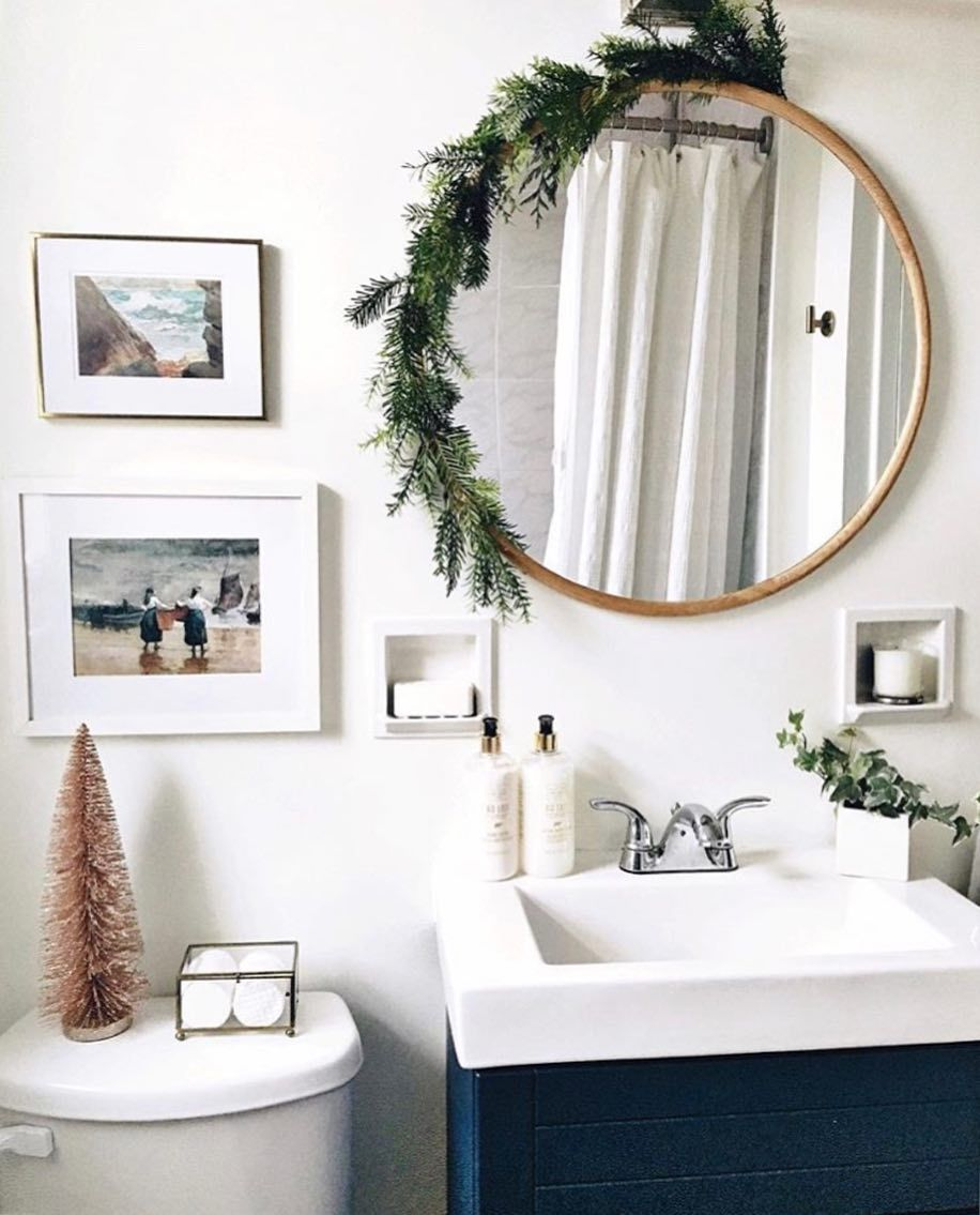 Now This Is How To Decorate Your Bathroom For Guests During The Holidays.  Donu0027t Forget The Fresh Towels, @lexstyleanddesign. Via @thenortherncurrent