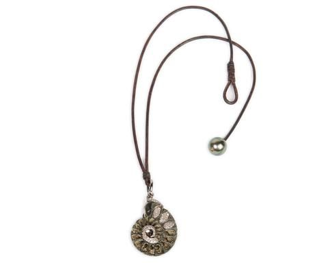 Ammonite South Sea Pearl Necklace