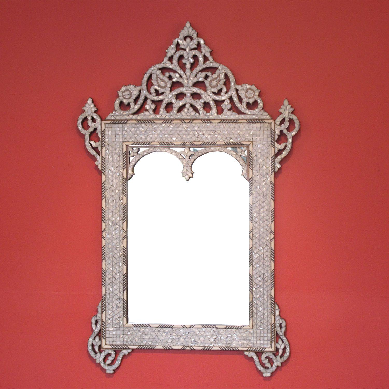 Moroccan Mirror On Style 1223 Damascene Moroccan