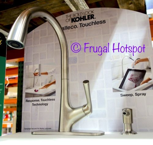 Kohler Malleco Touchless Pull Down #faucet#costco #frugalhotspot Beauteous Costco Kitchen Faucet Decorating Inspiration