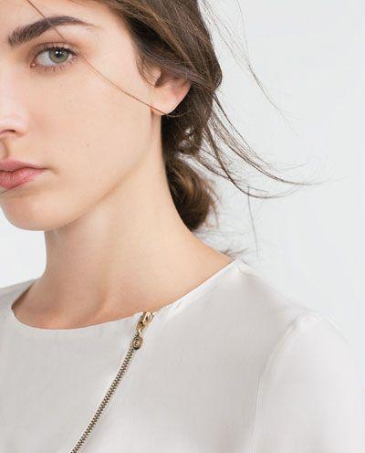 Image 6 of ZIP TOP from Zara