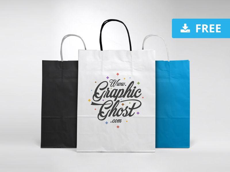 Download Free Paper Bag Mockup Bag Mockup Mockup Free Download Mockup Free Psd