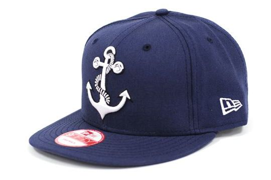 Liquid Force New Era Anchor Navy Hats Hats For Men Fitted Hats