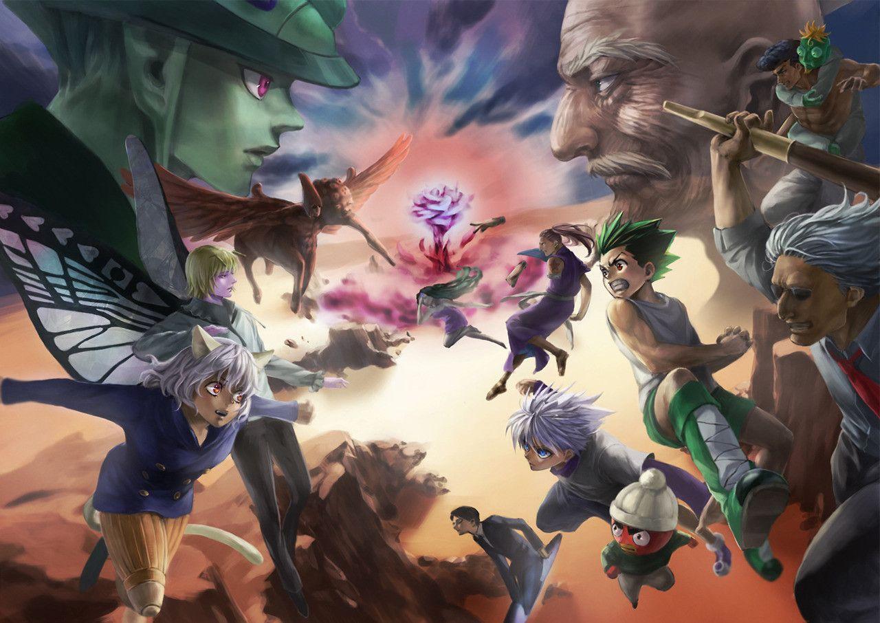 Chimera Ant Arc Hunter X Hunter Com Imagens Personagem De