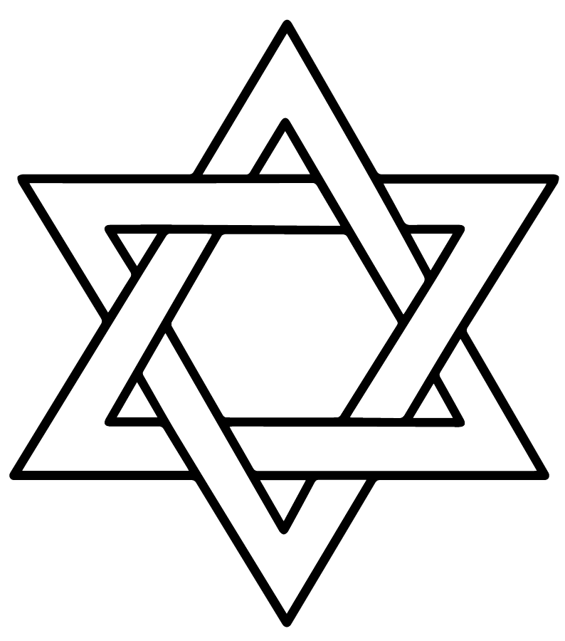 The Star Of David A Symbol Of Judaism Symbolikum Pinterest