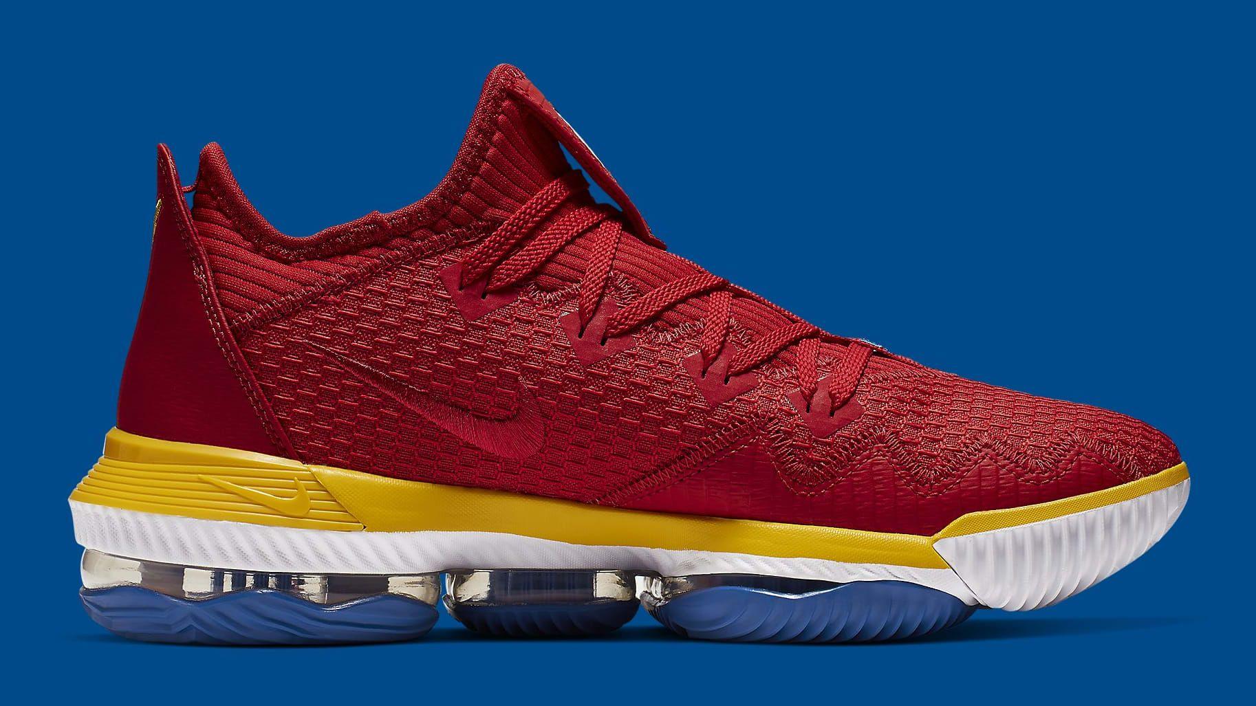 Nike LeBron 16 Low SuperBron Release