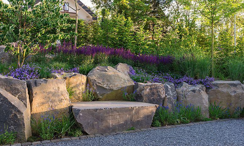 Peter Berg Gartenlandschaft Garten Gartendesign Ideen Steinmauer Garten