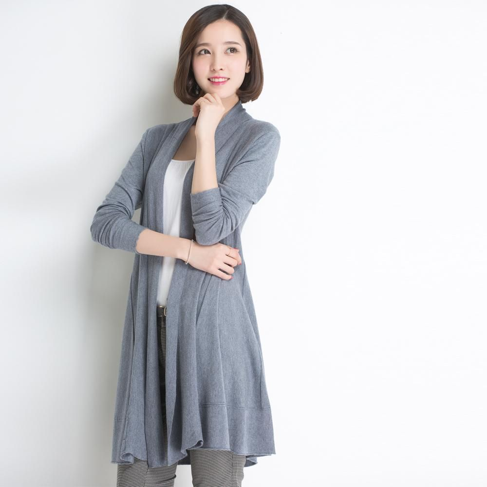 2015 New Cardigan Thin Women In The Korean | Awesome Long Cardigan ...