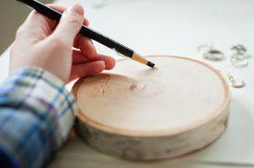 DIY Wood Round Ring Holder on Diane's Vintage Zest!
