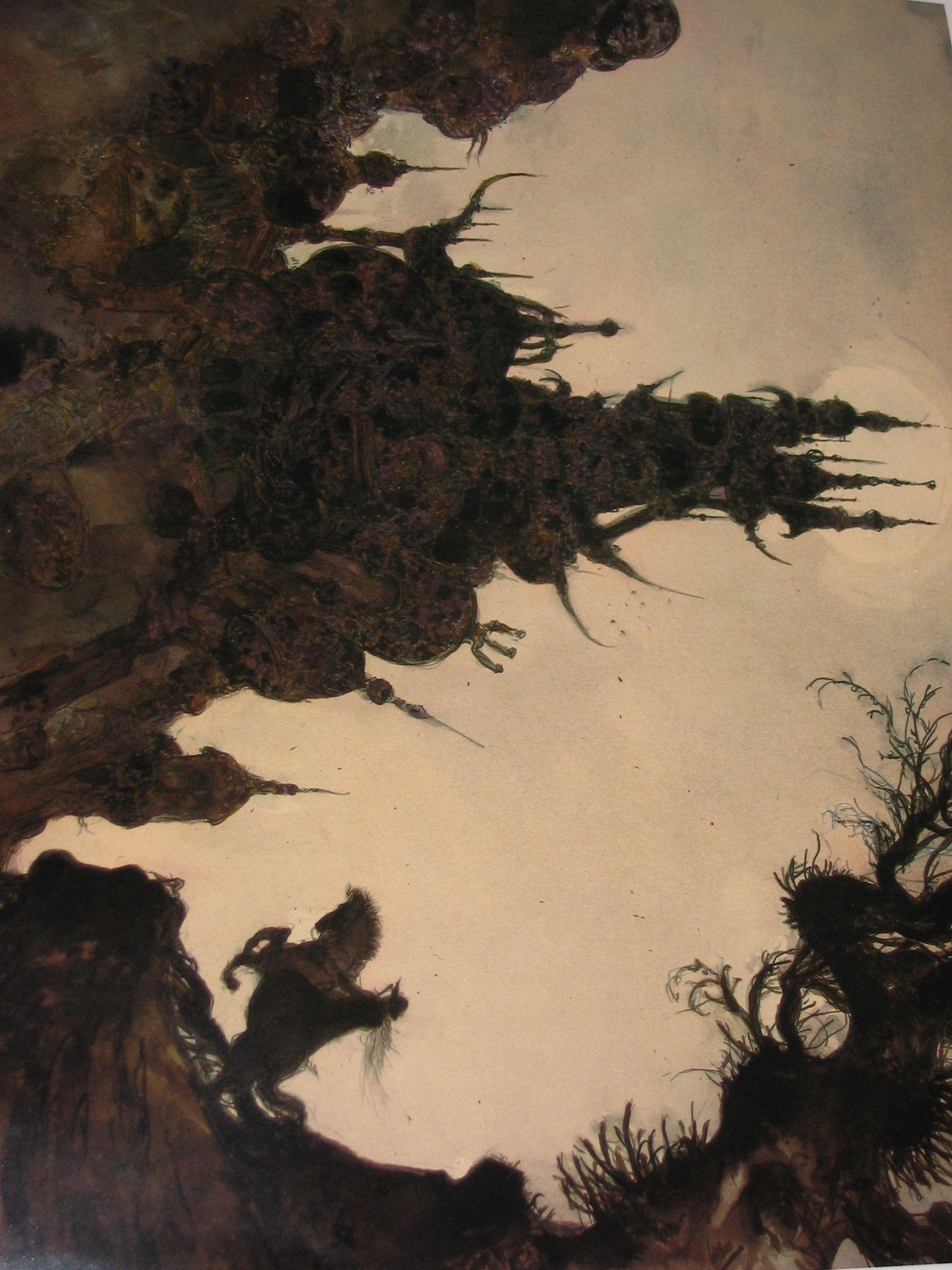 Osr Aesthetics Of Ruin Vampire Hunter D Fantasy Concept Art Vampire Hunter
