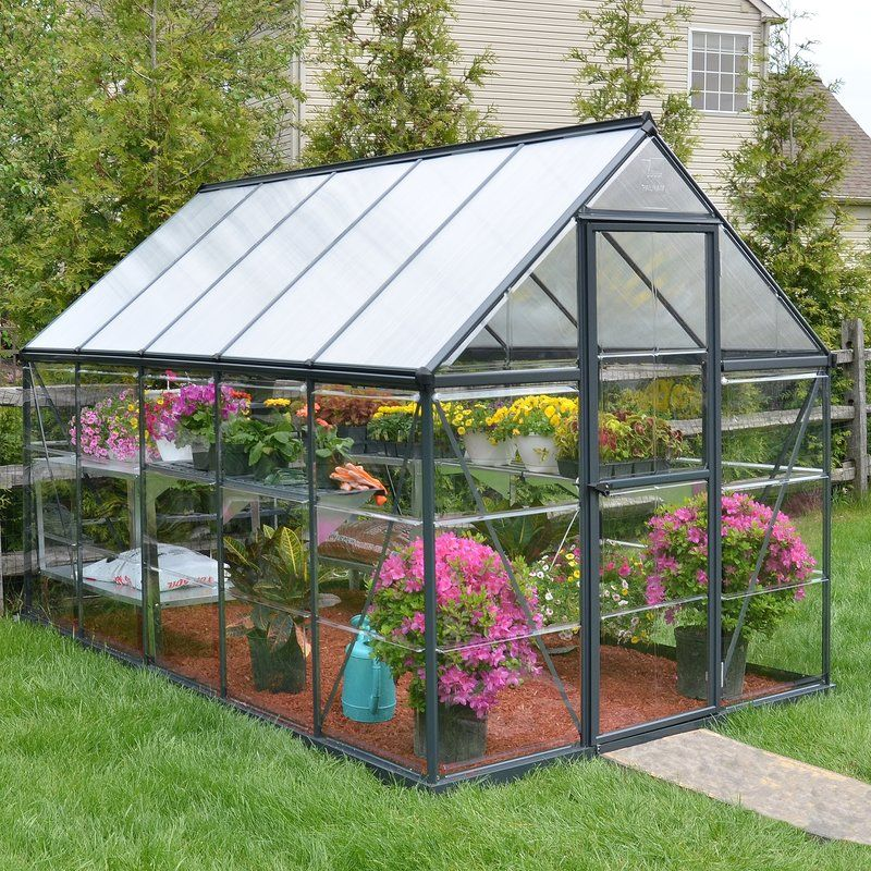 Hybrid 6 Ft  W x 10 Ft  D Greenhouse | Green Thumb | Cold