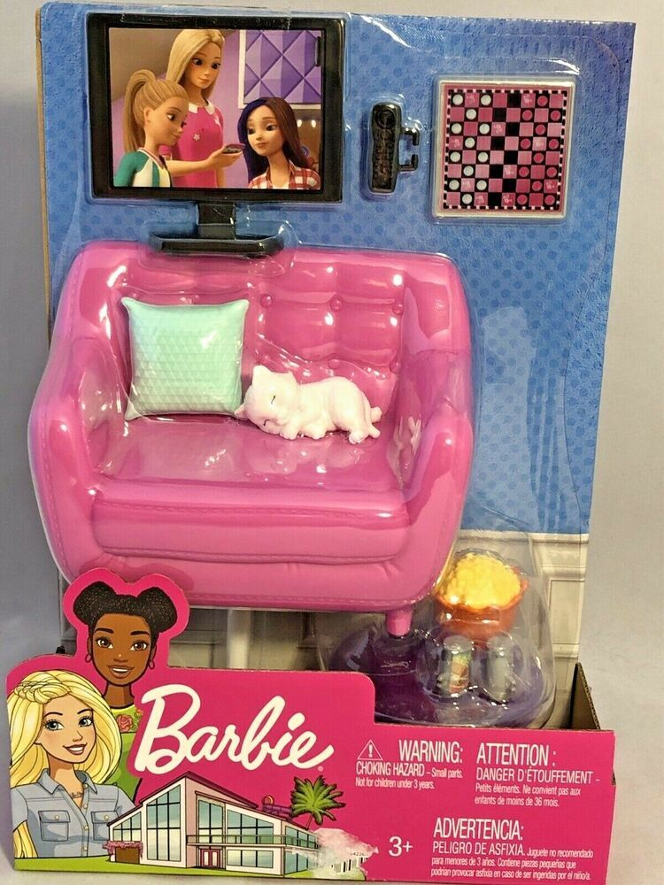 Barbie Living Room Furniture With Pet
