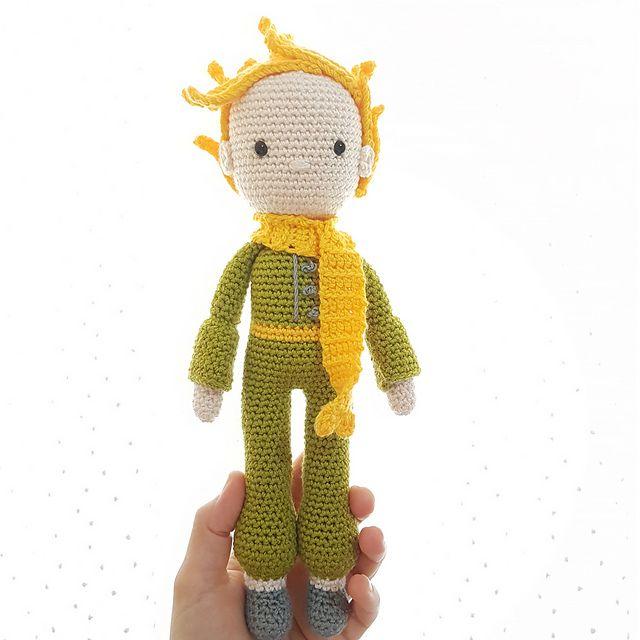 Ravelry: Amigurumi Little Prince pattern by Eda Gizem K. | Crochet ...