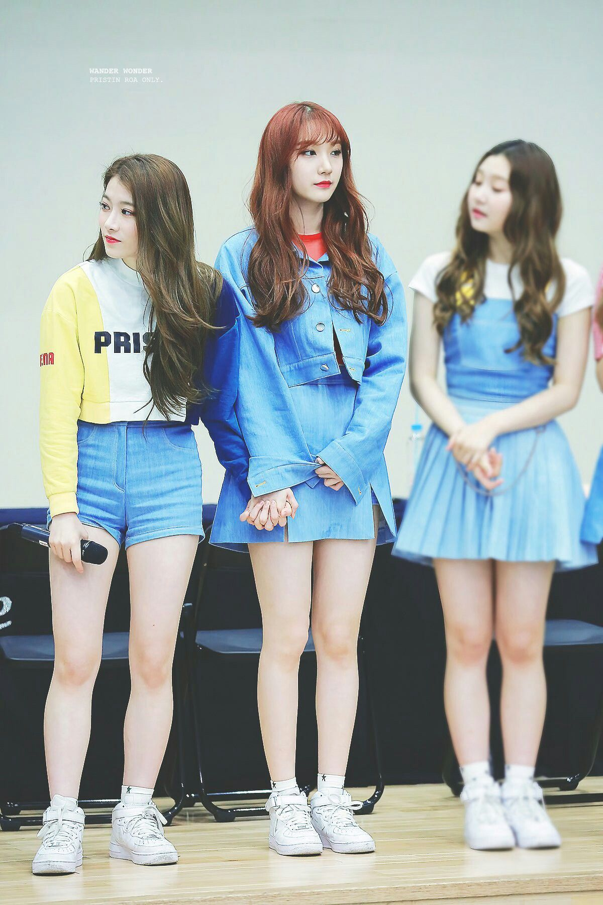 Height Difference Pristin Pristin