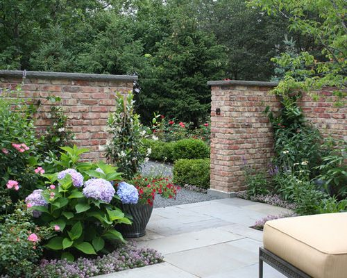 Innovative Brick Garden Wall Designs Best Brick Garden Wall Design Ideas  Remodel Pictures Houzz