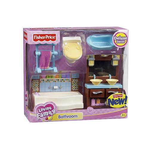Fisher Price Loving Family Kitchen: Fisher-Price Loving Family Dollhouse Furniture Set