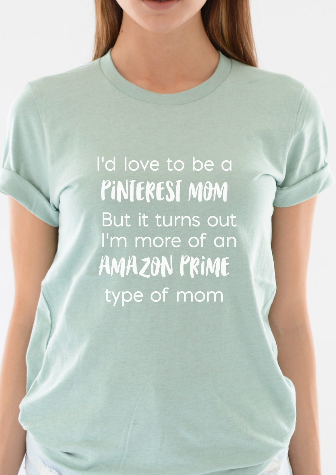 0f89d1857 This Amazon Prime Mom funny shirt is one of our most comfortable mom shirts.  Use