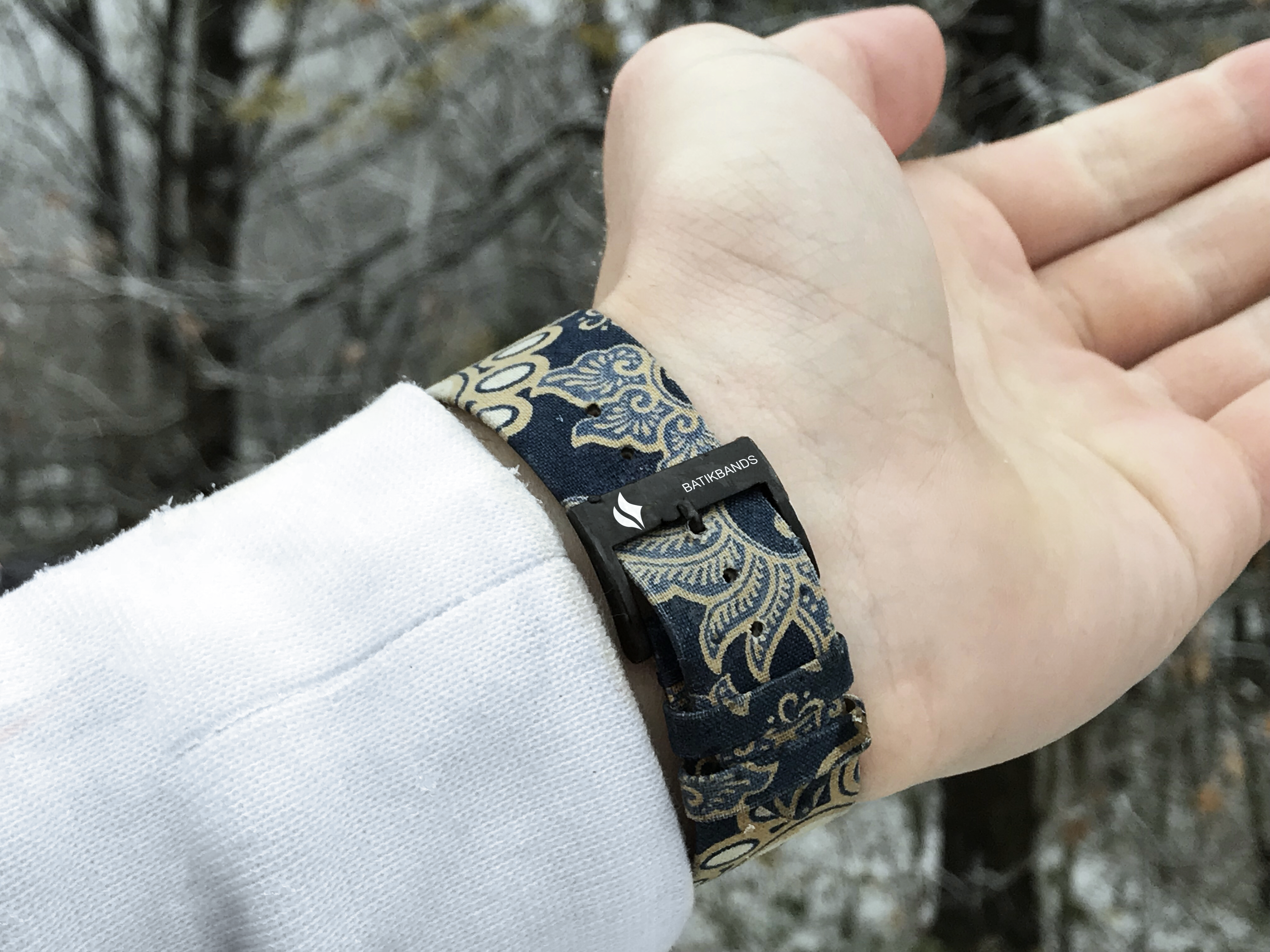 The beauty of Batik on your wrist Possible with Batik Bands