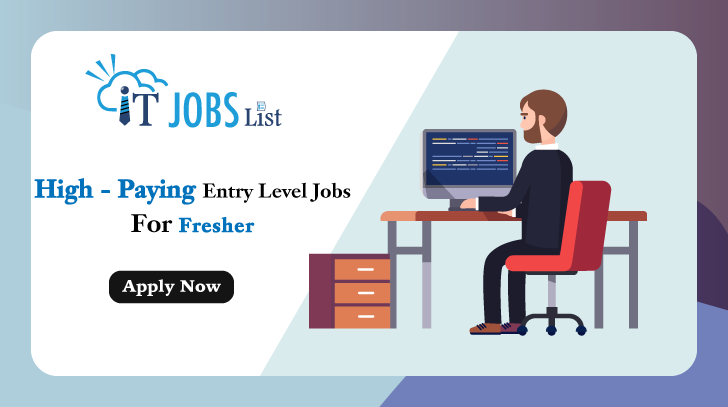 Get Your High Paying Entry Level Job Entry Level Jobs Entry Level List Of Jobs