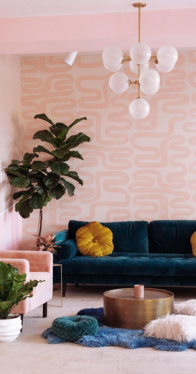 Modern Interior Design, Wallpaper & Removable Decals | drop it MODERN®