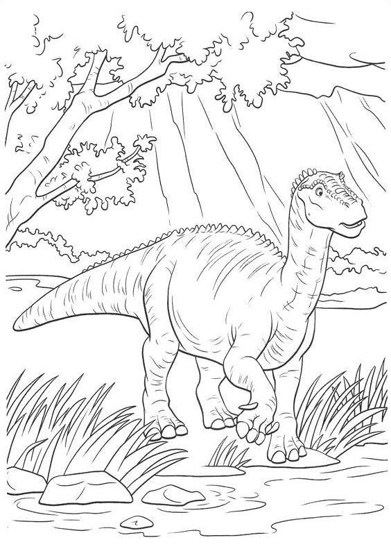 Dinosaurus | Předškoláci - omalovánky, pracovní listy ...